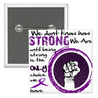 We don't know how STRONG we are... Pin