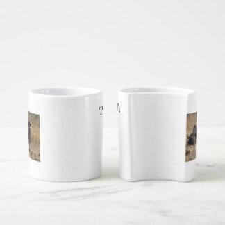 We Fit Together Zebra Hug Mugs