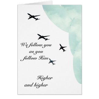We follow you card
