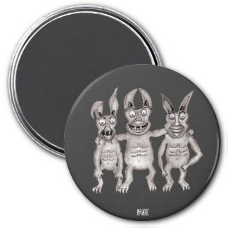 We Gargoyles Three Magnet