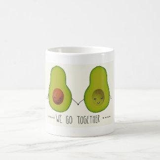 """""""We Go Together"""" Avocado mug"""