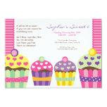 "We ""Heart"" Cupcakes Invitation"
