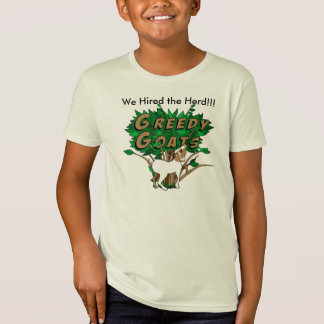 We Hired the Herd!!! Organic kids tee