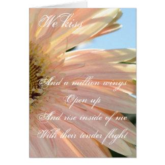 We Kiss Greeting Card