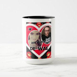 We know de wae custom print mug
