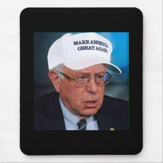 We know who Bernie actually wanted to win Mouse Pad