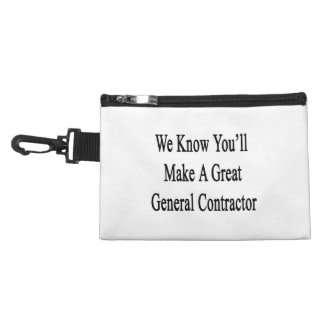 We Know You'll Make A Great General Contractor Accessory Bag