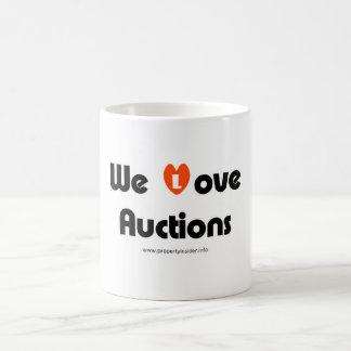 We Love Auctions Coffee Mug