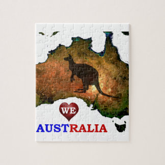 WE LOVE AUSTRALIA. PUZZLE