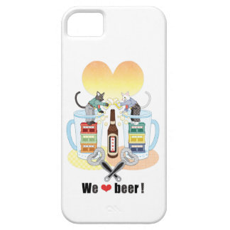 We love beer! iPhone 5 cover
