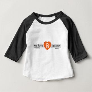 We Love Bitcoin Baby T-Shirt