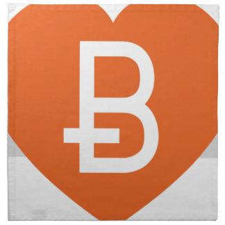 We Love Bitcoin Napkin