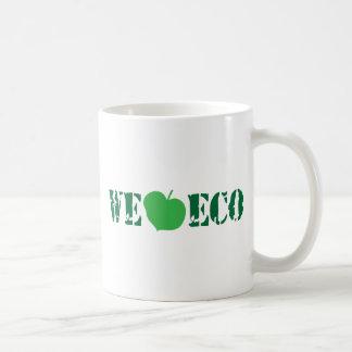 We love eco basic white mug