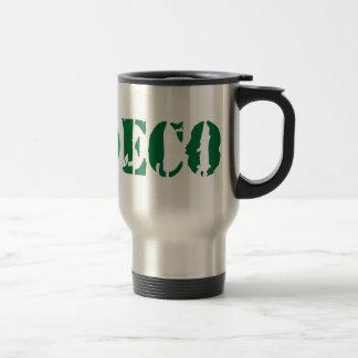 We love eco stainless steel travel mug