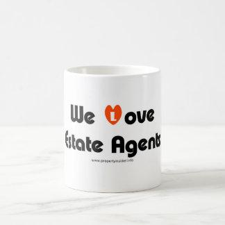 We Love Estate Agents Coffee Mug