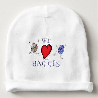 we love haggis baby beanie