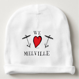 we love melville baby beanie