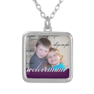 We Love Mimi Grandma Mother Gift Silver Plated Necklace