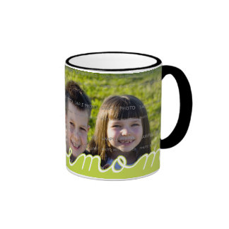 We Love Mum Mother's Day Mugs with Photo | Green