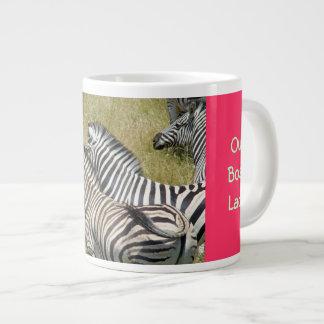 We love our Boss Lady Large Coffee Mugs Zebra Jumbo Mug