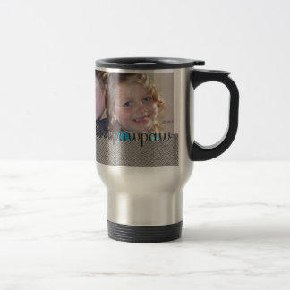 We Love Our Pawpaw  Add Your Photo Travel Mug