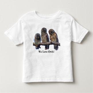 We Love Owls! Toddler T-Shirt