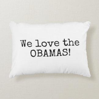 We Love the Obamas Lumbar Pillow