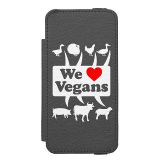 We love Vegans II (wht) Incipio Watson™ iPhone 5 Wallet Case