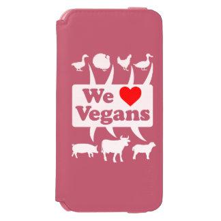 We love Vegans II (wht) Incipio Watson™ iPhone 6 Wallet Case