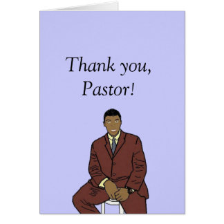 We love you Pastor Greeting Cards