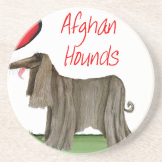 we luv afghan hounds from tony fernandes coaster
