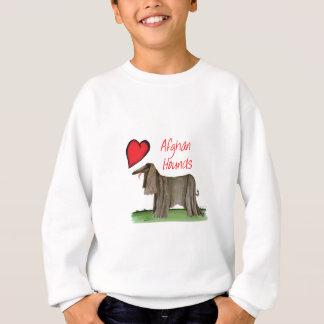 we luv afghan hounds from tony fernandes sweatshirt