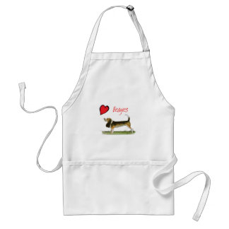 we luv beagles from tony fernandes standard apron