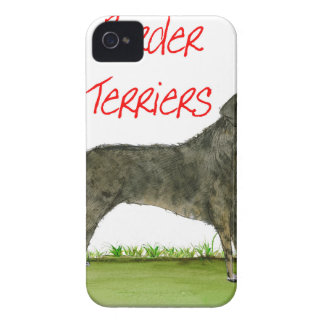 we luv border terriers from tony fernandes Case-Mate iPhone 4 case