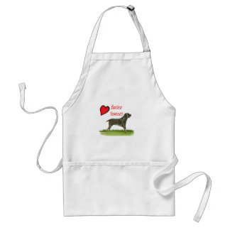 we luv border terriers from tony fernandes standard apron