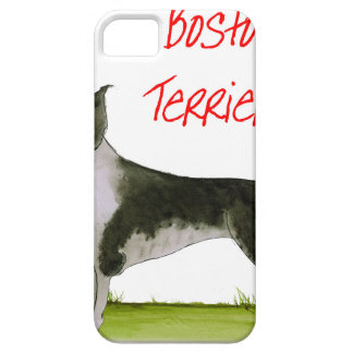 we luv boston terriers from tony fernandes iPhone 5 covers