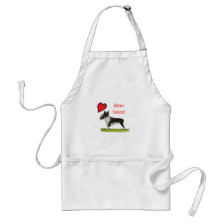 we luv boston terriers from tony fernandes standard apron