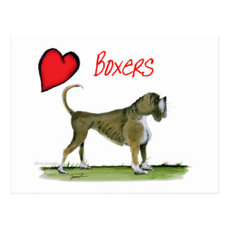 we luv boxers from tony fernandes postcard