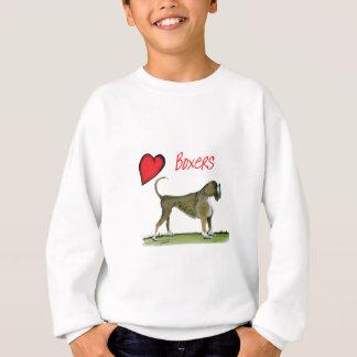 we luv boxers from tony fernandes sweatshirt