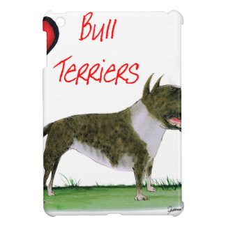 we luv bull terriers from tony fernandes iPad mini covers