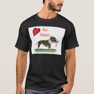 we luv bull terriers from tony fernandes T-Shirt