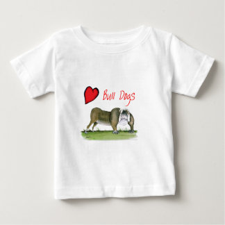 we luv bulldogs from tony fernandes baby T-Shirt