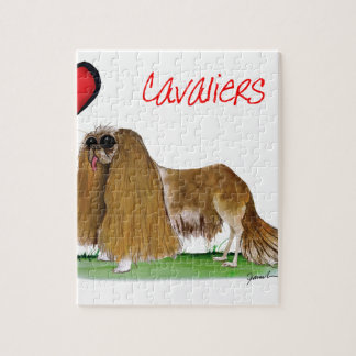 we luv cavaliers from tony fernandes jigsaw puzzle