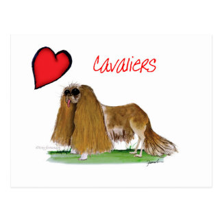 we luv cavaliers from tony fernandes postcard