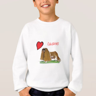 we luv cavaliers from tony fernandes sweatshirt