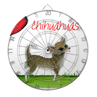 we luv chihuahuas from tony fernandes dartboard