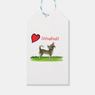 we luv chihuahuas from tony fernandes gift tags