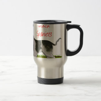 we luv cocker spaniels from tony fernandes travel mug