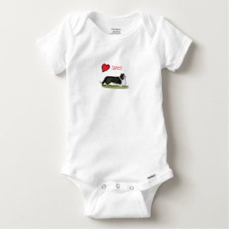 we luv collies from tony fernandes baby onesie