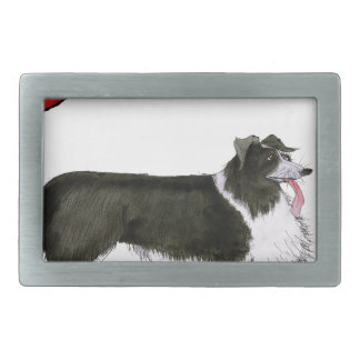 we luv collies from tony fernandes belt buckle